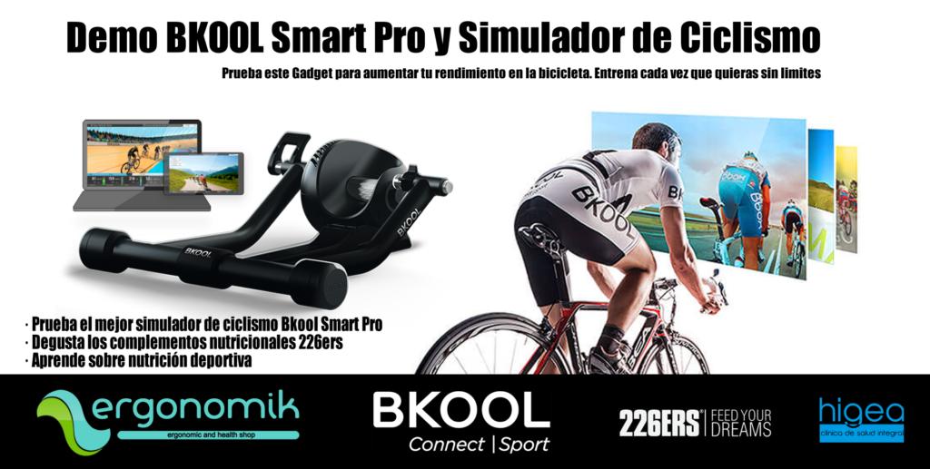 Demo BKOOL Smart Pro y Simulador de Ciclismo - Ergonomik
