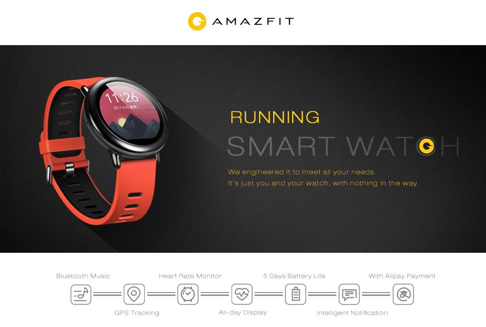 Smartwatch amazfit Sport Reloj - Ergonomik