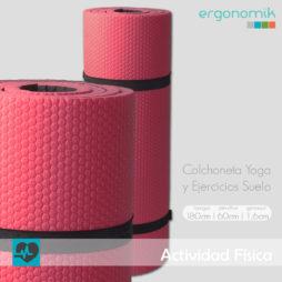 Esterilla para gimnasia suelo o yoga - Ergonomik